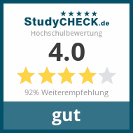 Read all reviews on StudyCheck.de
